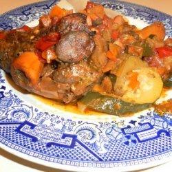 Disney's Epcot World Showcase Moroccan Roast Lamb Shank Meshoui