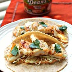 Buffalo Ranch Fish Tacos