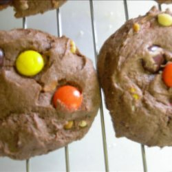 Reese's Pieces in a Cookie