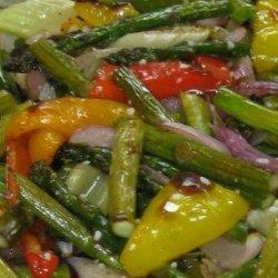 Roasted Asparagus Medley