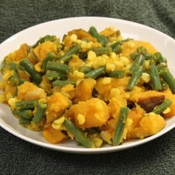 Porotos Quebrados (Green Bean and Pumpkin Stew)