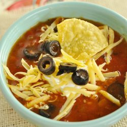 Chicken Tortilla Soup for the Crock Pot