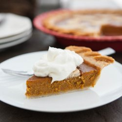 Sweet Potato-Pumpkin Pie