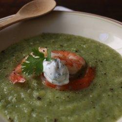 Zucchini Cilantro Soup