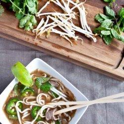 Pho Bo (Beef Noodle Soup)