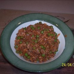 Mom's Hamburger Spanish Rice