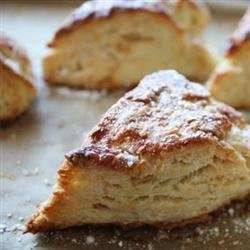 Lemon Ginger Scones with Brown Rice Flour and Agave Nectar