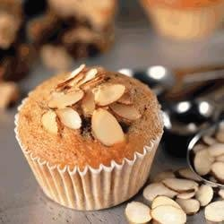 Almond Banana Chocolate Muffins