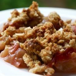 Apple-Rhubarb Dessert
