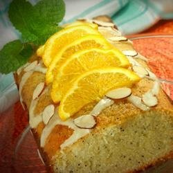 Orange-Almond Poppy Seed Bread