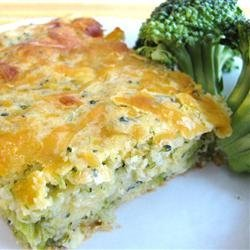 Broccoli Corn Bread with Cheese