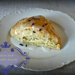 Lemon and Lavender Scones recipe