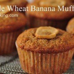 Easy Whole Wheat Banana Muffins