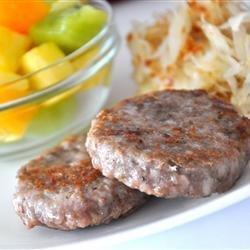 Breakfast Sausage recipe