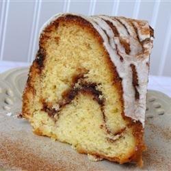 Cinnamon Swirl Bundt Coffee Cake