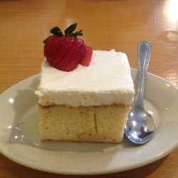 Light Tres Leches Cake