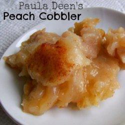 Peach Cobbler (Paula Deen)