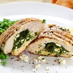 Feta Stuffed Chicken Breast