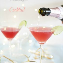 Vodka and Cranberry Cocktail