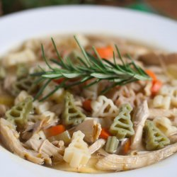 Quick Chicken Noodle Soup recipe
