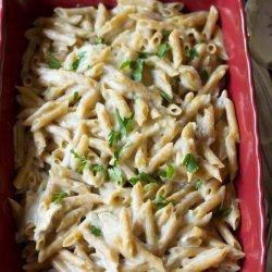 Garlic Chicken with Pasta