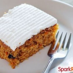Low Fat Low Sugar Carrot Cake