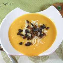 Butternut Squash Soup With Apple