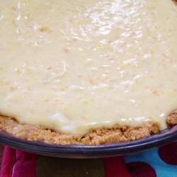 Orange Cheesecake Pie