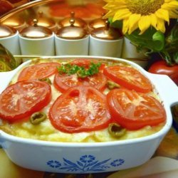 Hachis Parmentier - French Provencale Style Shepherd's Pie