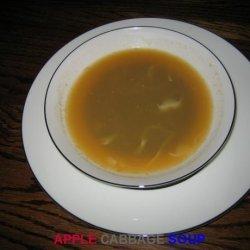 Apple Cabbage Soup