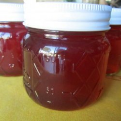 Cranberry Bee Balm Jelly