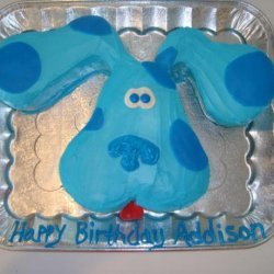 Blue's Clues Kids Cake!