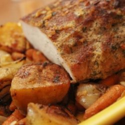 Incredible Boneless Pork Roast With Vegetables