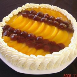 No-Bake Fruit Topped Cheese Cake