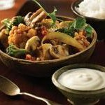Quick Chicken and Vegetable Indian Curry