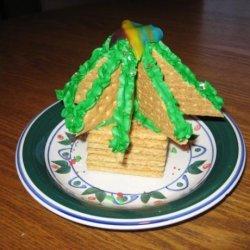 Graham Cracker Christmas Tree Decoration