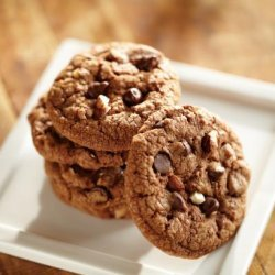 Chocolate Hazelnut Chip Cookies recipe