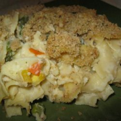 Thanksgiving Leftovers-Turkey Noodle Casserole recipe