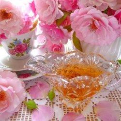Cottage Garden Rose-Petal Syrup (Sweetened Rose Water)