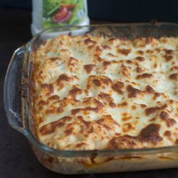Buffalo Chicken and Potatoes Casserole