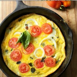 Frittata with Bacon and Tomatoes
