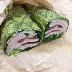 Turkey Cheese Avocado Wrap