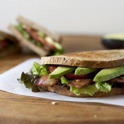 Bacon, Avocado, Tomato Sandwich