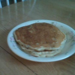 Homemade Cranberry Pancakes