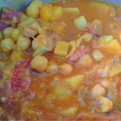 Sopa De Garbanzos (Chick Pea Soup)