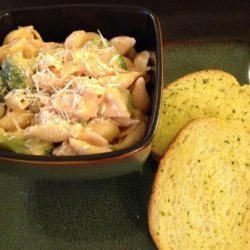 Jim's Pasta Con Broccoli With Grilled Chicken