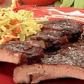 Asian Spice Rubbed Ribs with Plum-Ginger Glaze (Bobby Flay)
