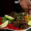 Blazin' Short Rib Tacos with Roasted Peppers (Aaron McCargo, Jr.)