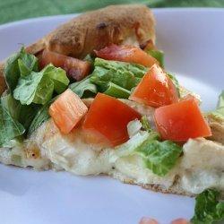 Caesar Chicken Pizza