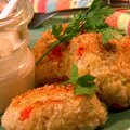 Chicken Croquettes with Creole Sauce (Paula Deen)